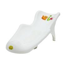 6111_fotelik do kąpieli z matą_DINO_biały