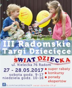 plakat targi dziecięce 2017 mały bez logo