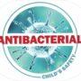 naklejka antibacterial