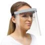 1410 90 przylbica szary + okulary